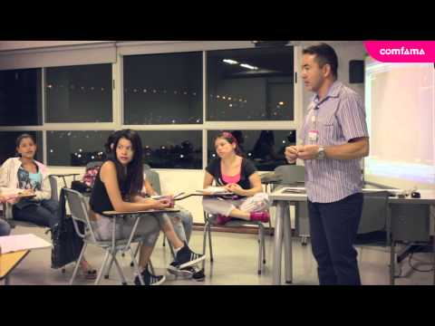 Clases de inglés en Comfama